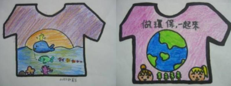 小朋友爱护环境简笔画